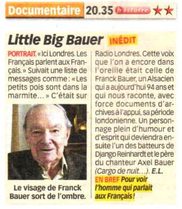 Little Big Bauer Télé Loisirs